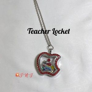 Teacher Red Standard Living Story Locket